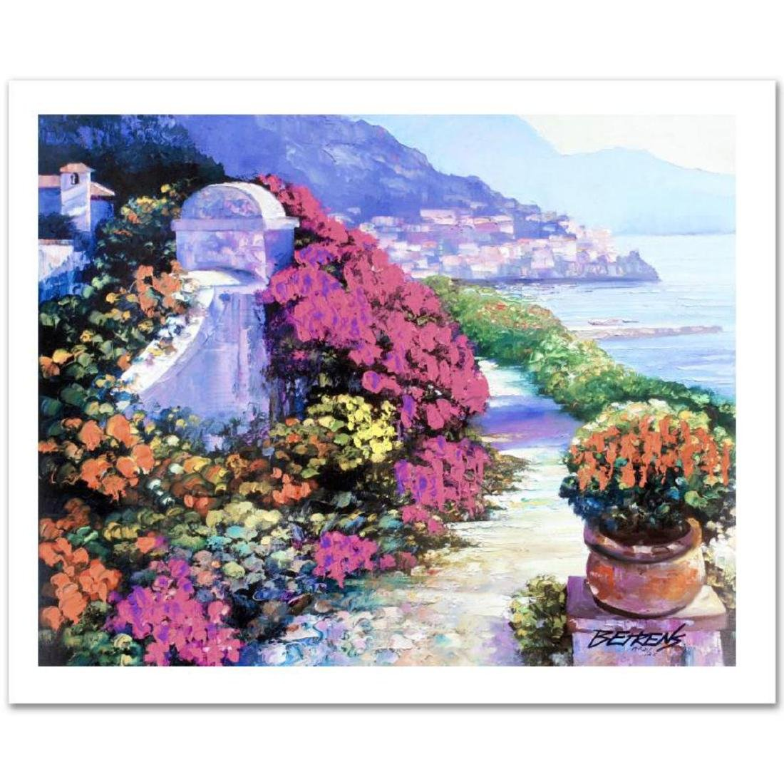 """Near Amalfi"" Limited Edition Hand Embellished Giclee"