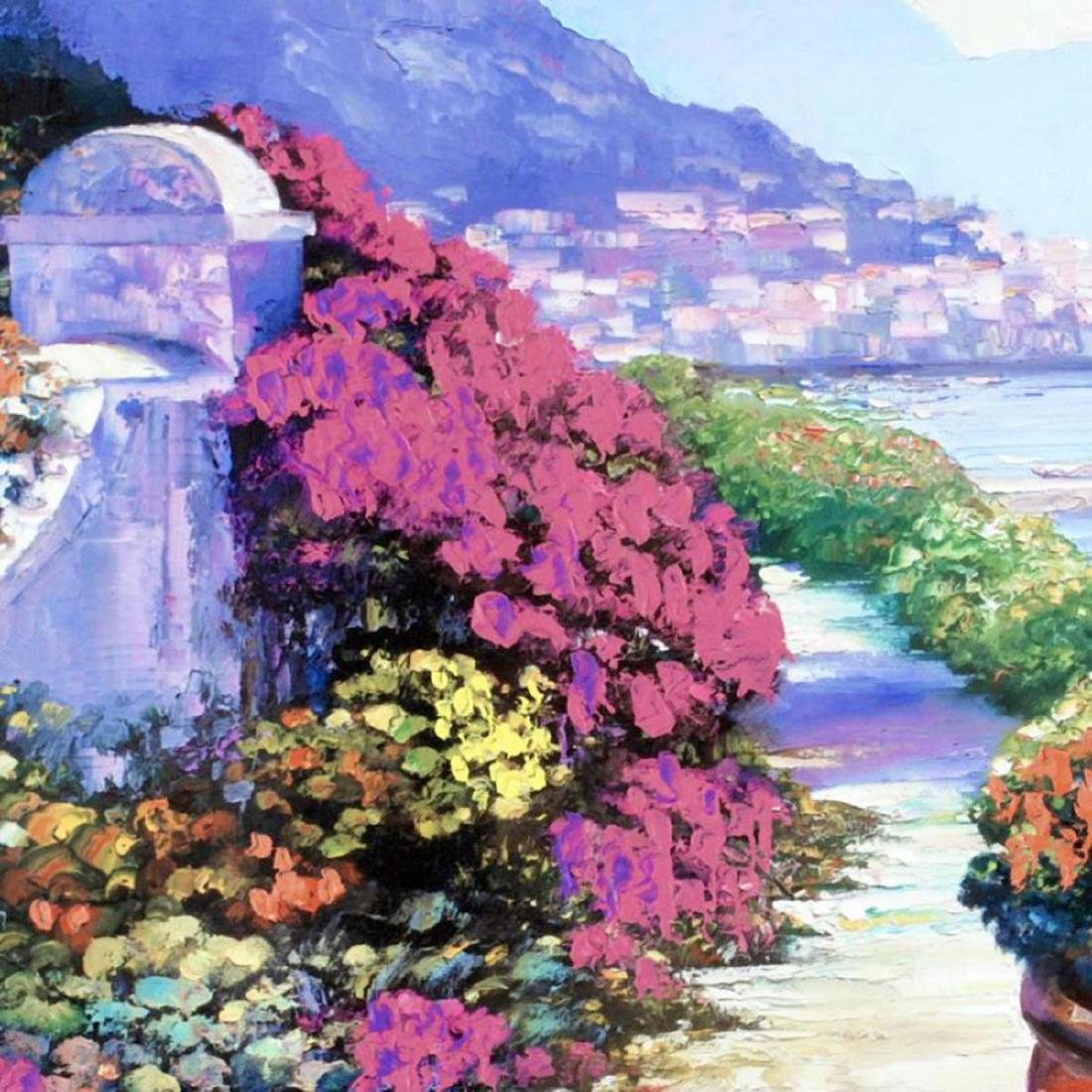"""Near Amalfi"" Limited Edition Hand Embellished Giclee - 2"