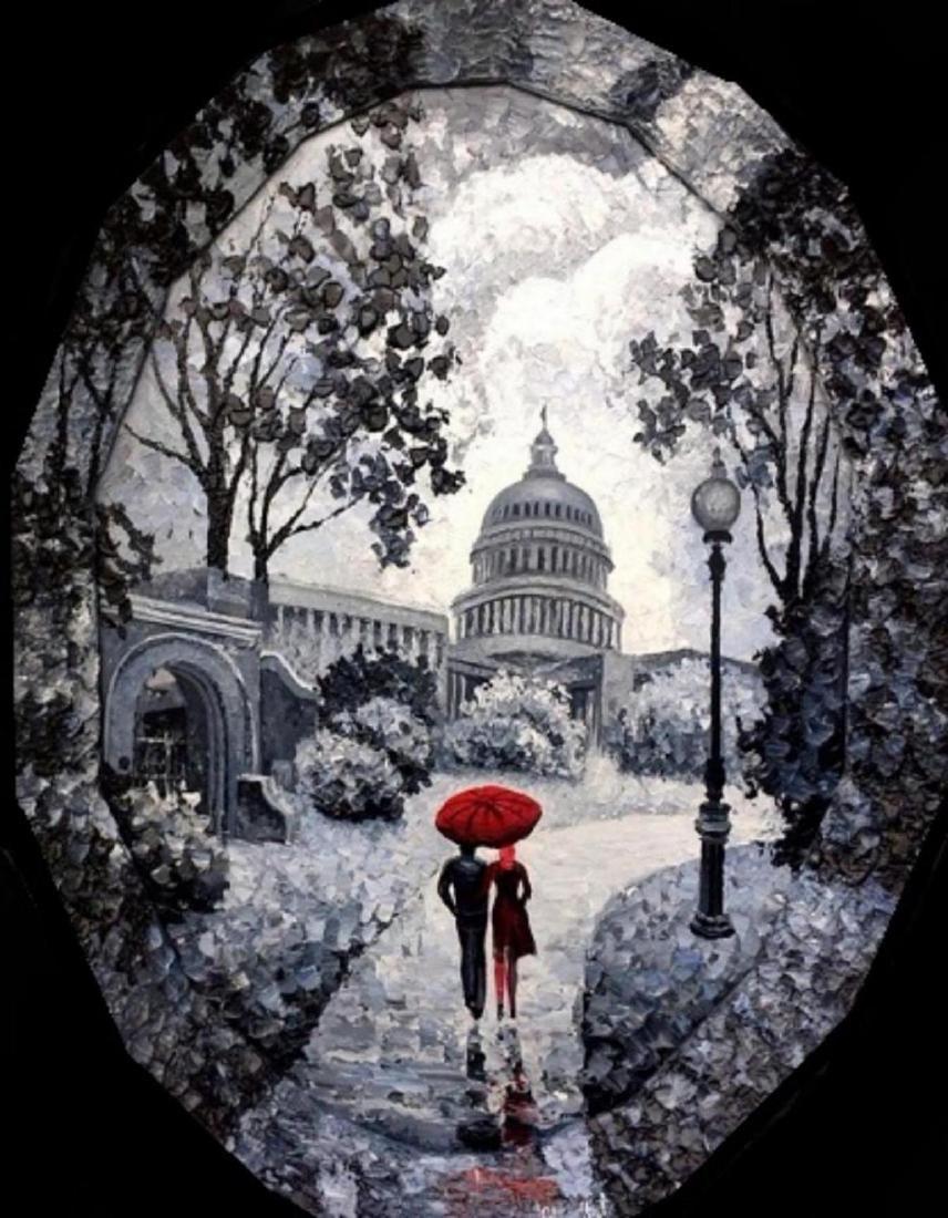 """Alexander Antanenka- """"Little Rain In Washington DC"""""""