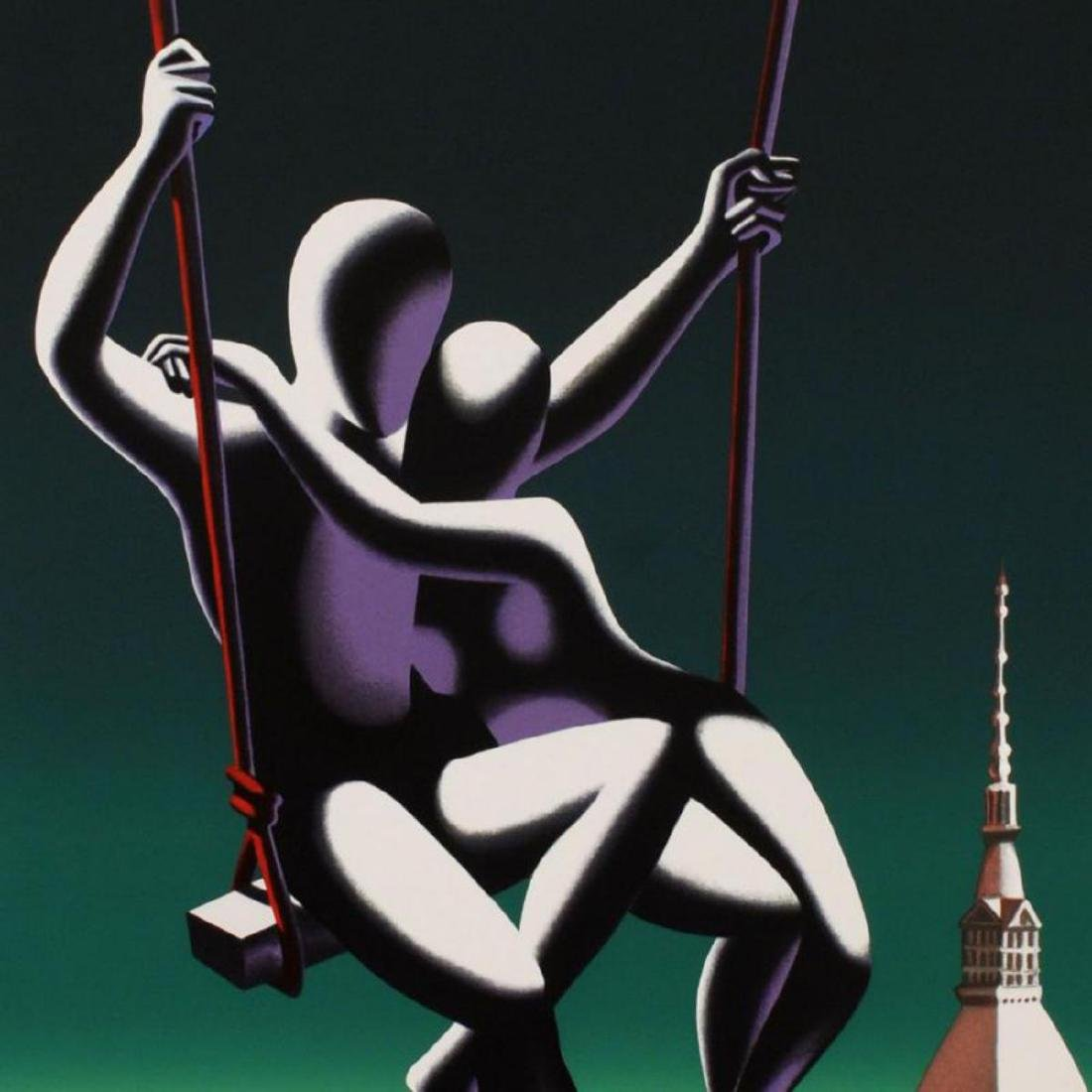 """Mark Kostabi - """"Above The World"""" Limited Edition - 2"""