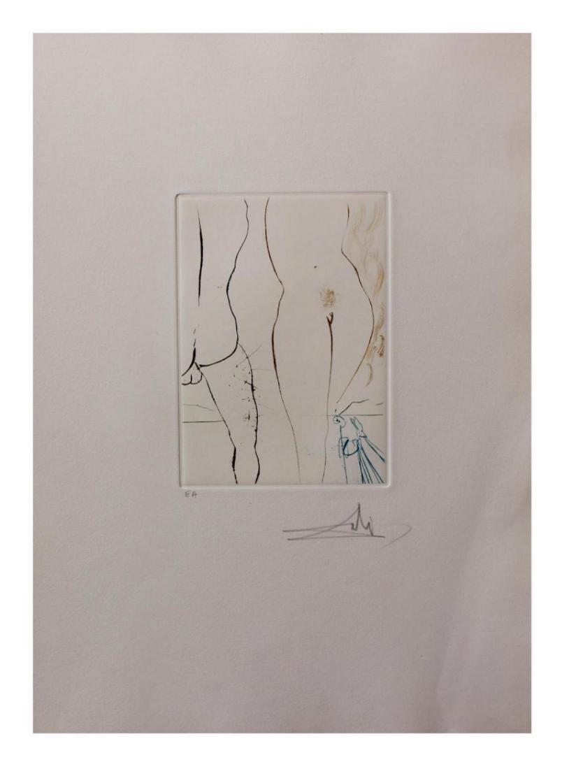 "Salvador Dali- ""Le Tonneau"" Original Engravings with"