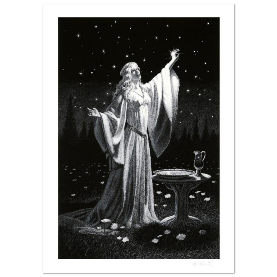 """Ring Of Galadriel"" Limited Edition Giclee by Greg"