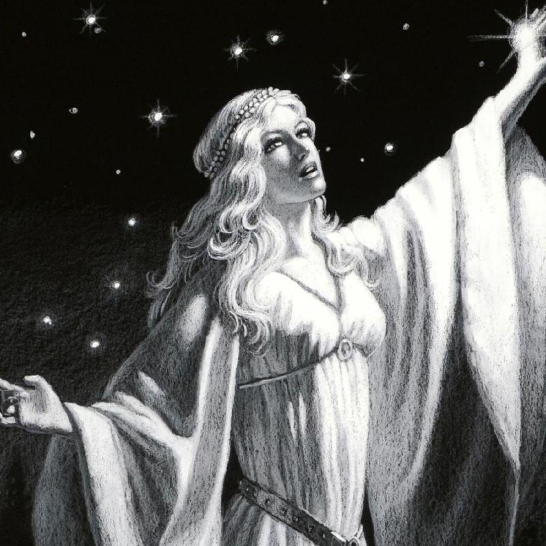 """""""Ring Of Galadriel"""" Limited Edition Giclee by Greg - 2"""