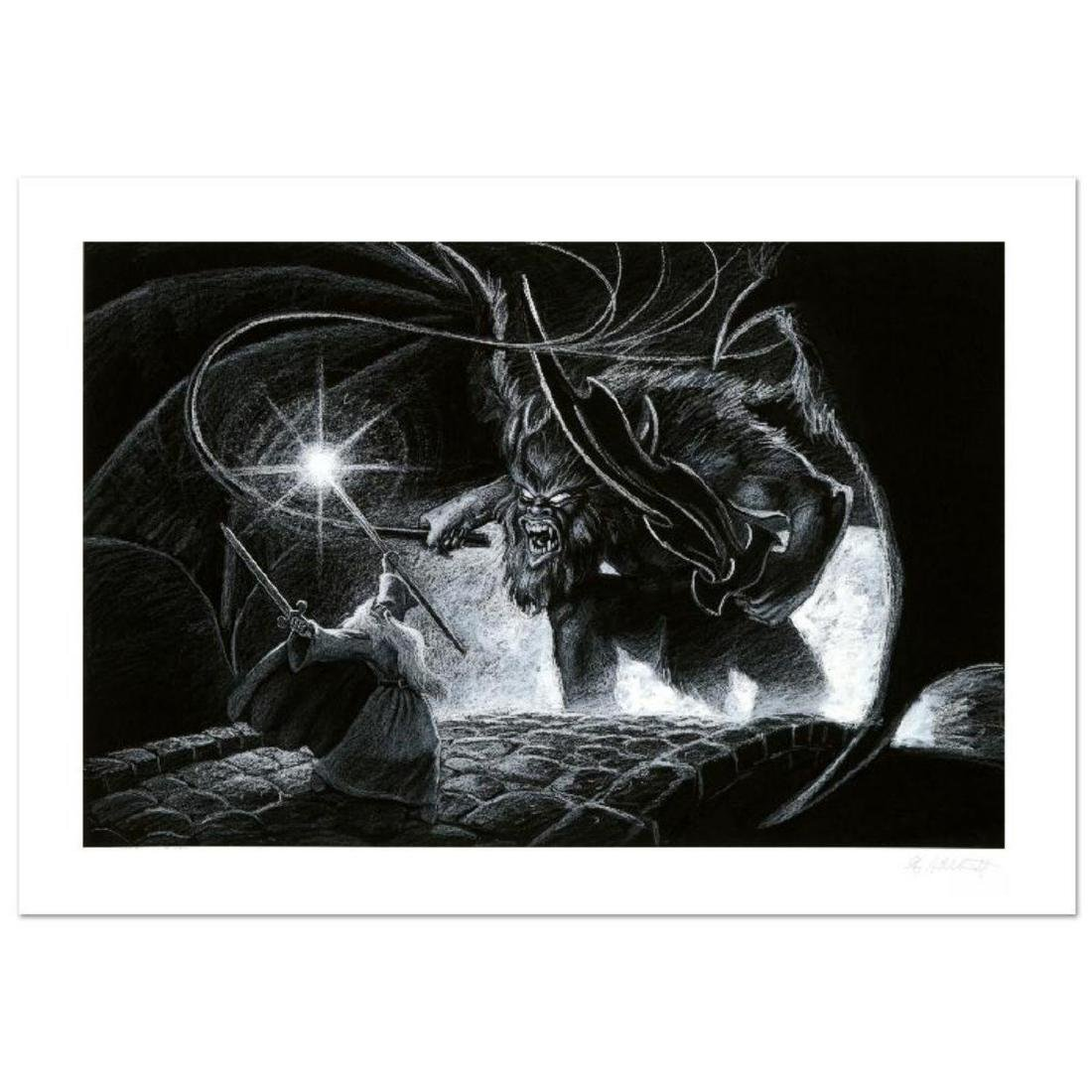 """""""Mines Of Moria"""" Limited Edition Giclee by Greg"""