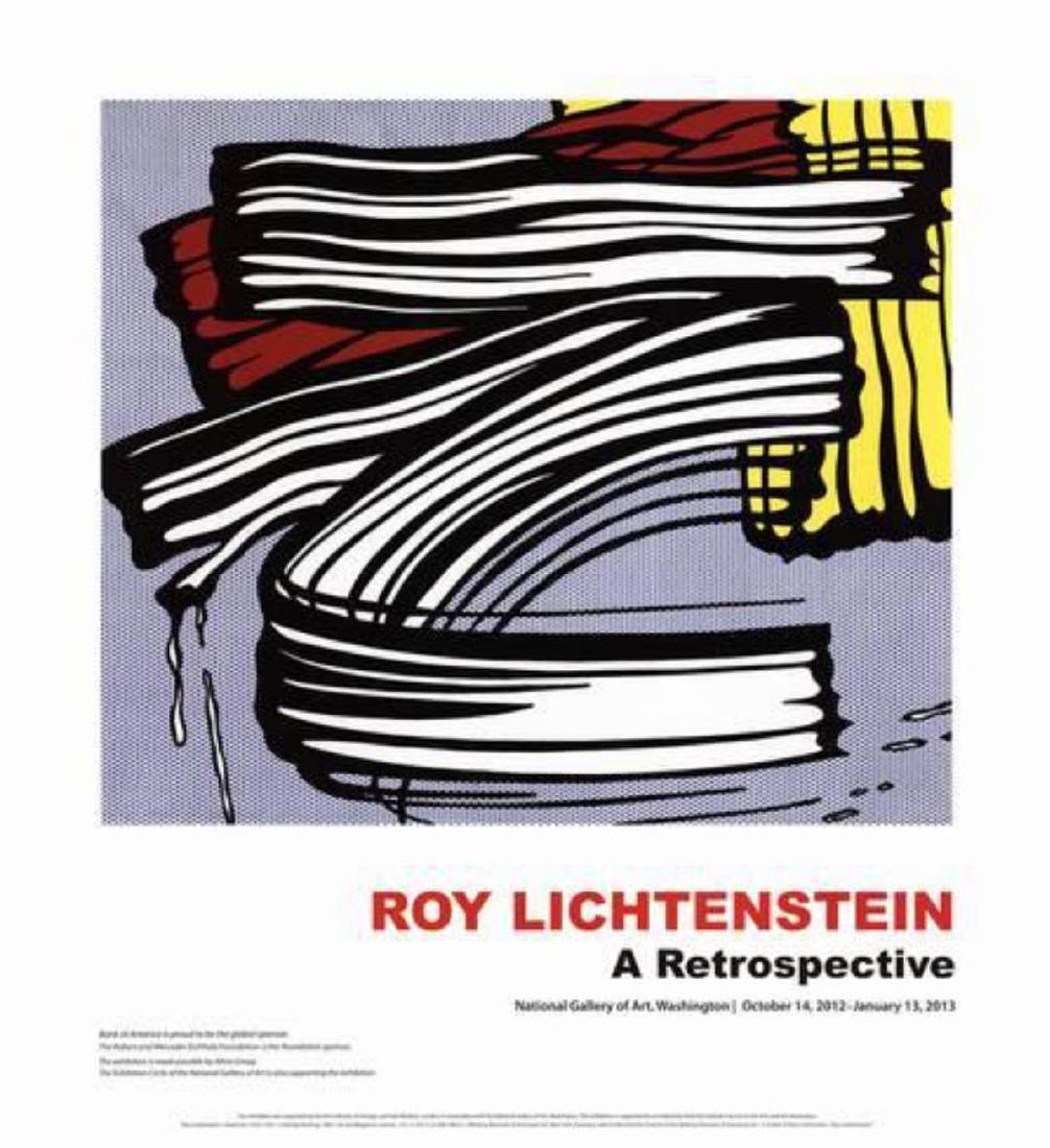 """Roy Lichtenstein """"Little Big Painting"""" Offset"""