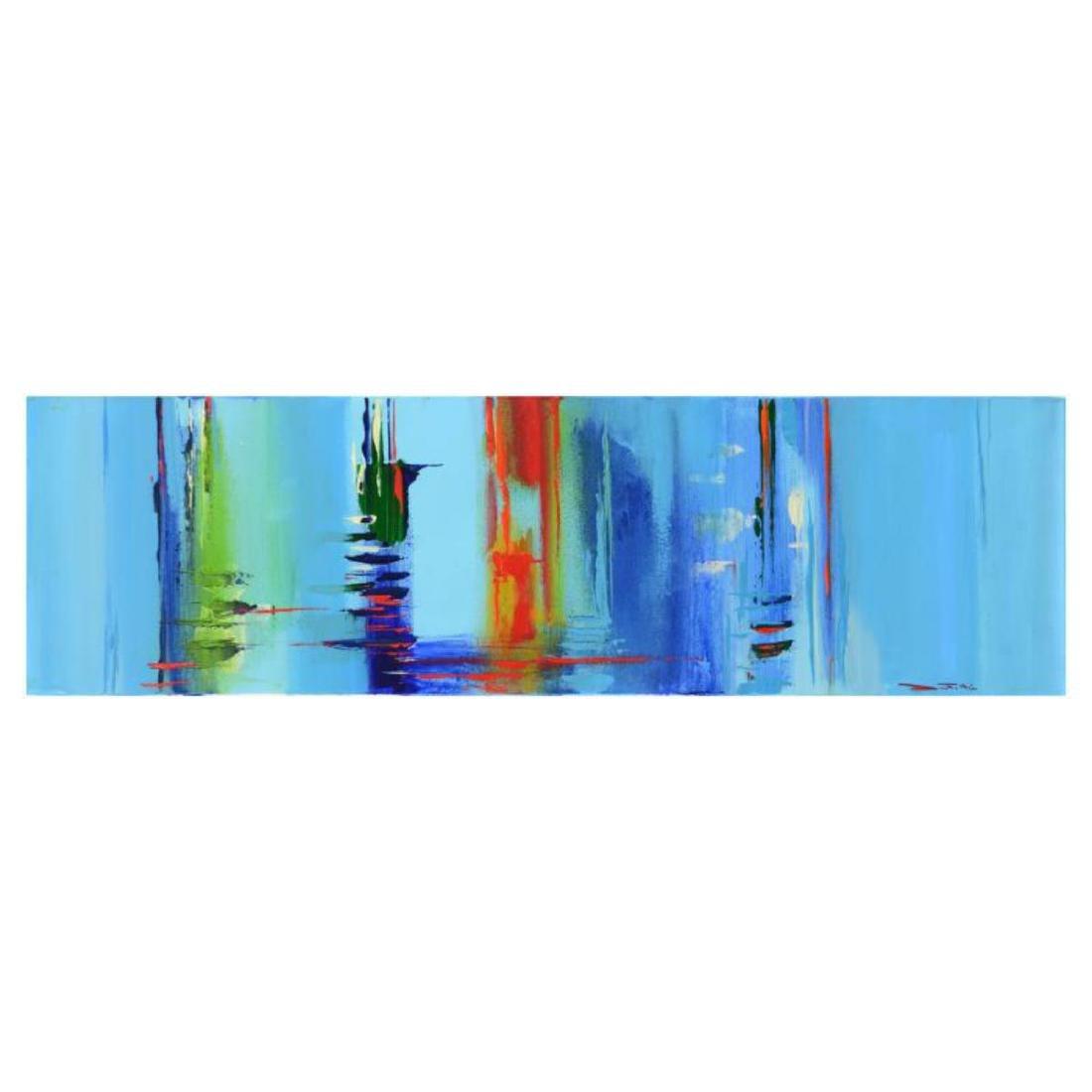 "Roberto Donatelli - ""Reflections"" Original Oil Painting"