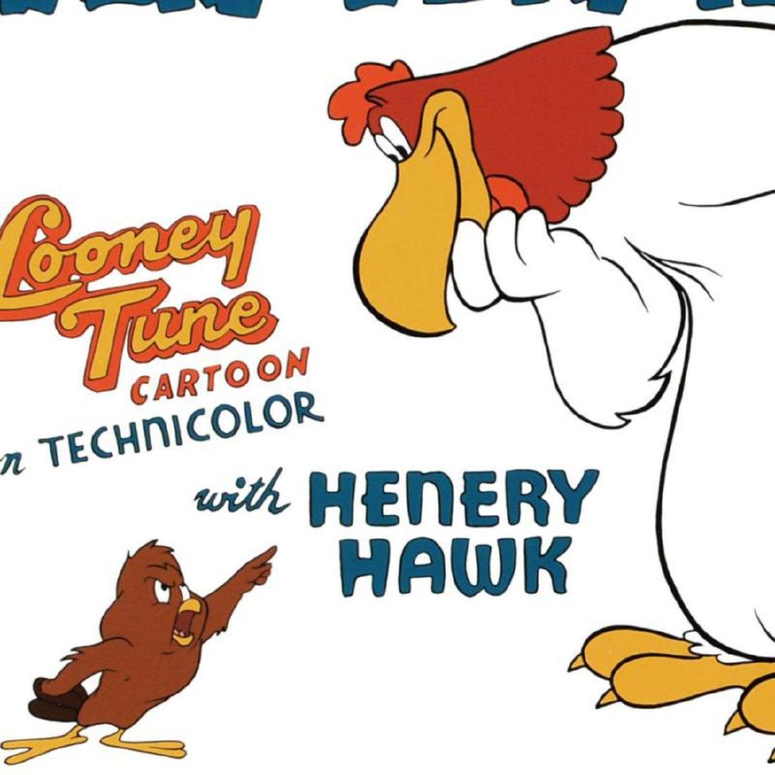 """""""Walky Talky Hawky"""" Limited Edition Giclee from Warner - 2"""