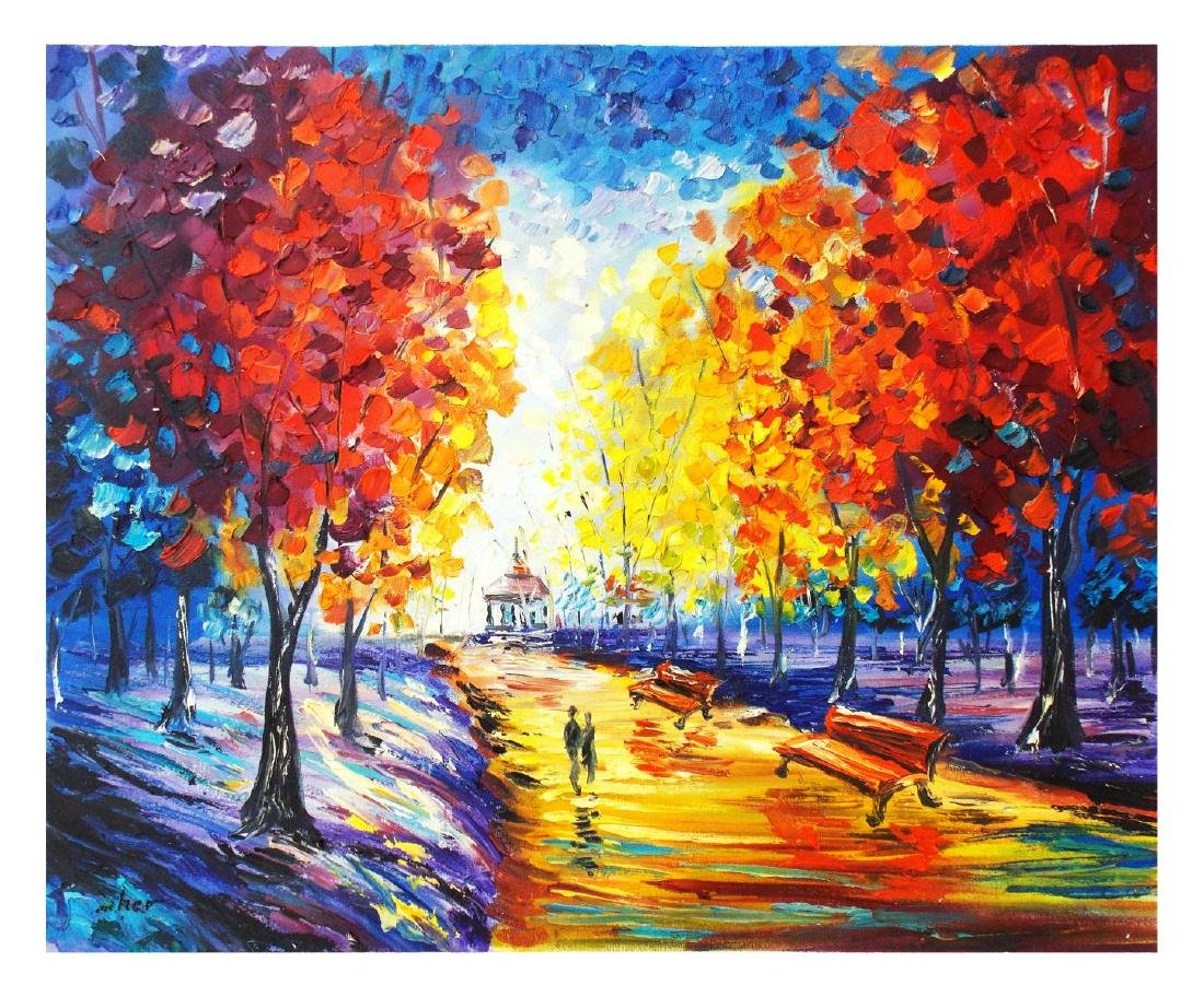 """Svyatoslav Shyrochuk- Original Oil on Canvas """"Av. des"""