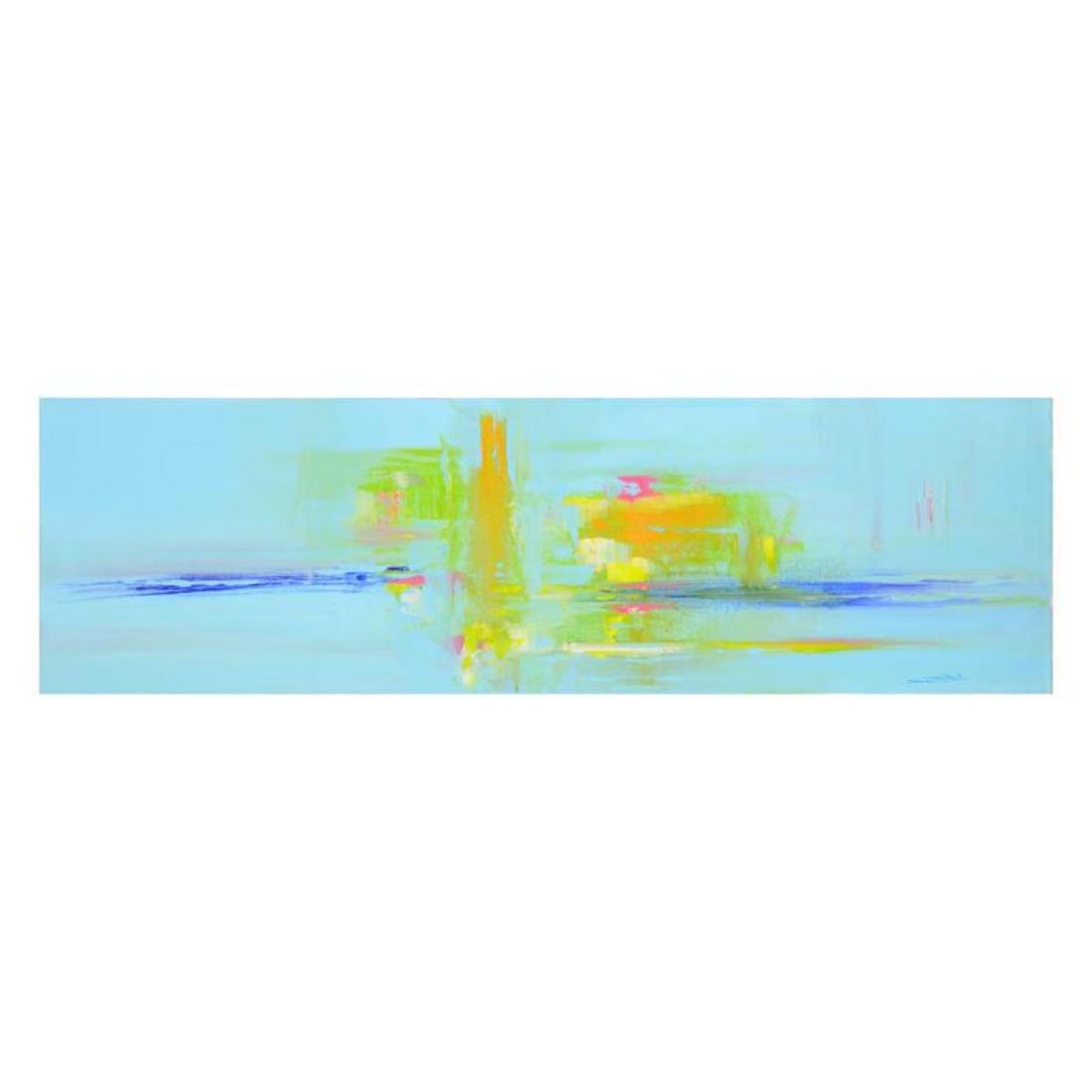 """Roberto Donatelli - """"Transparent Sunset"""" Original Oil"""
