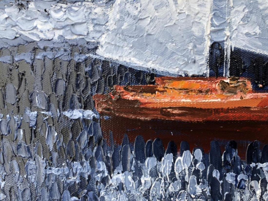 "Alexander Antanenka- ""Journey"" Original Acrylic on - 2"