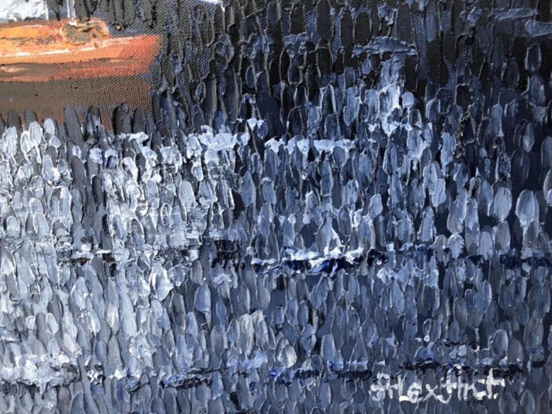 "Alexander Antanenka- ""Journey"" Original Acrylic on - 3"