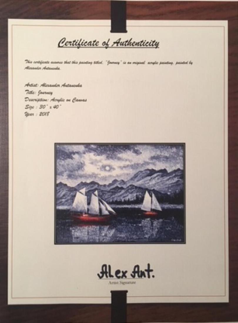 "Alexander Antanenka- ""Journey"" Original Acrylic on - 4"