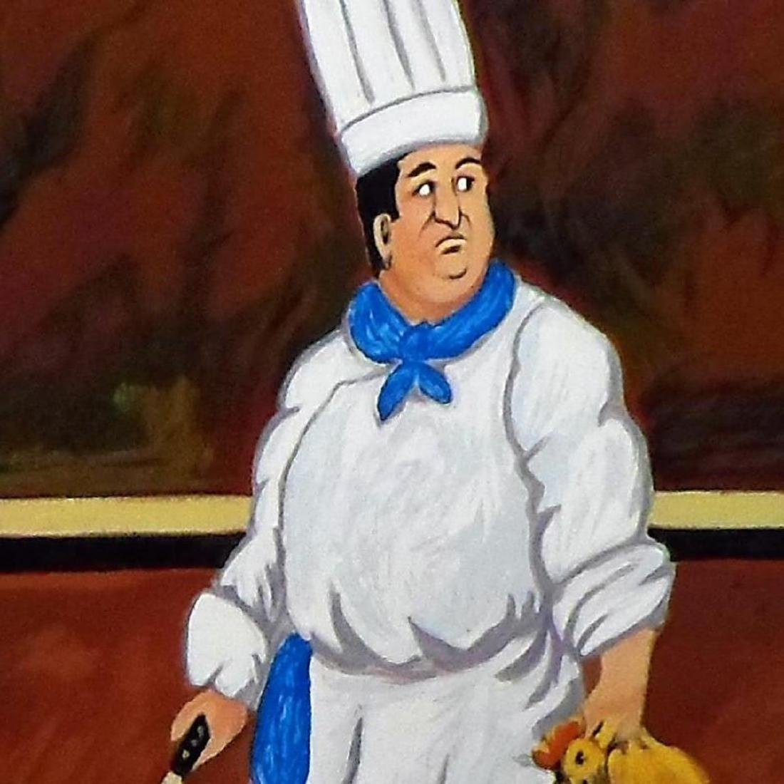 "Guy Buffet - ""Chef Louis"" Limited Edition Serigraph; - 2"