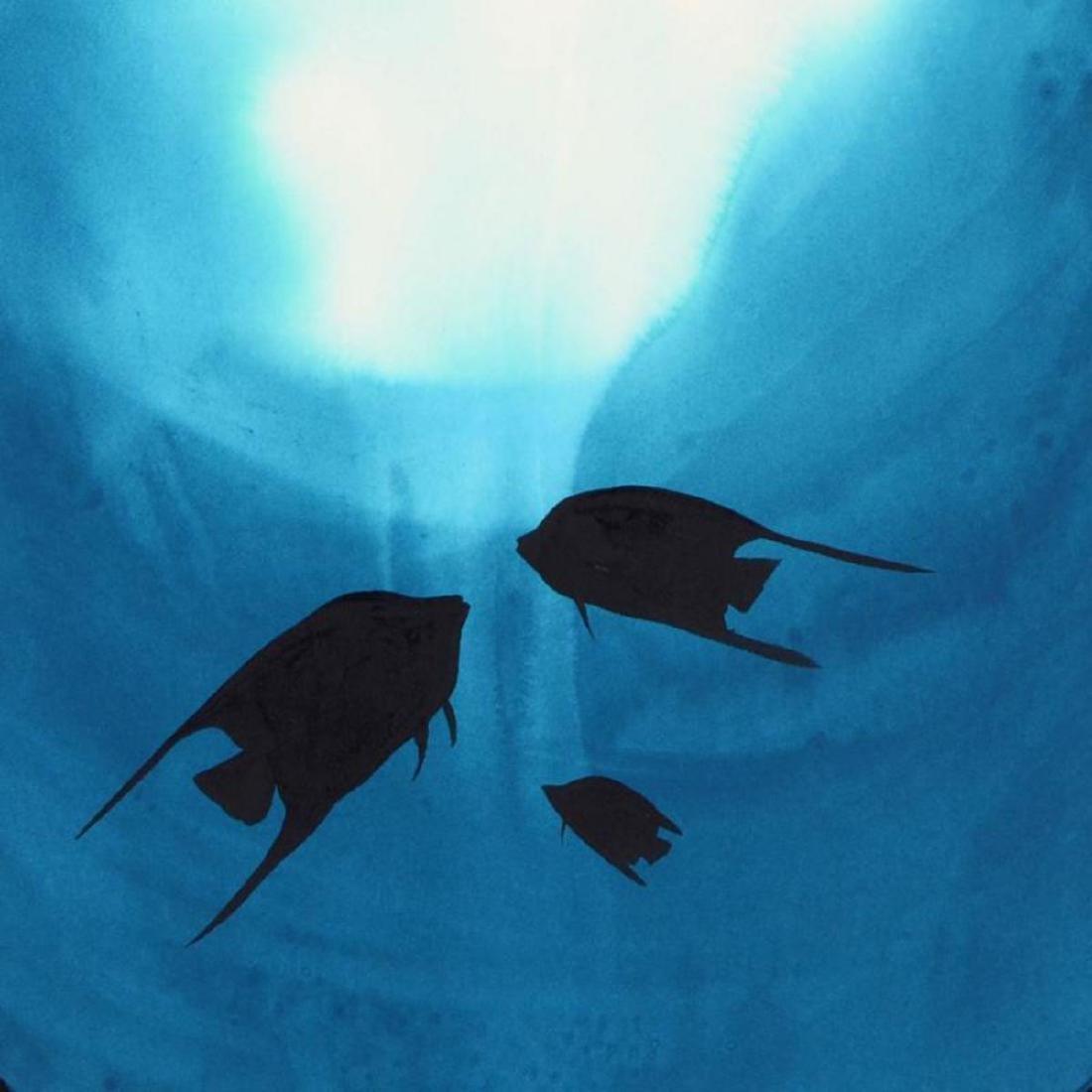 "Wyland -""Tropical Fish"" Framed Original Watercolor - 2"