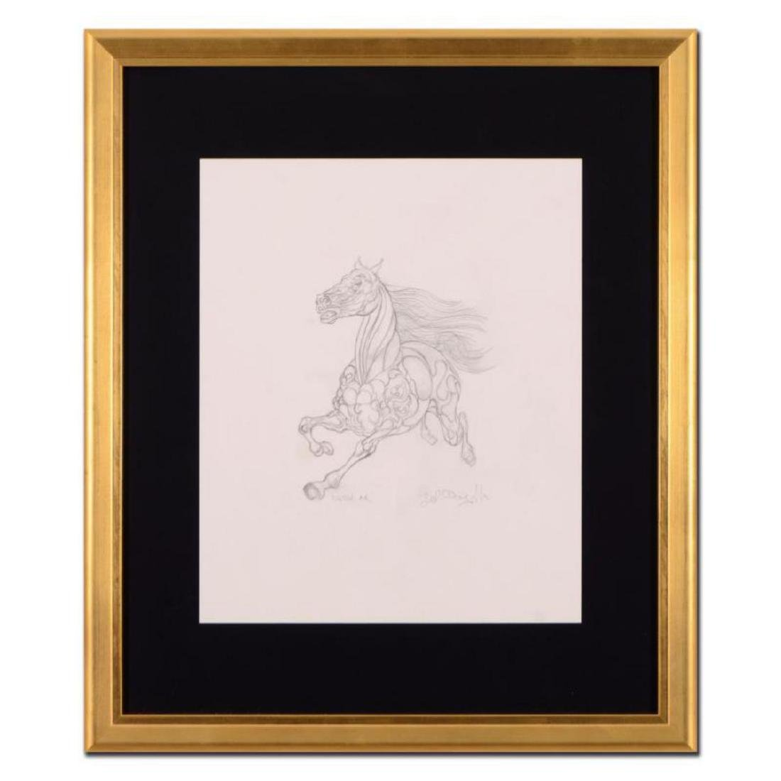 "Guillaume Azoulay - ""AR Sketch"" Framed Original"