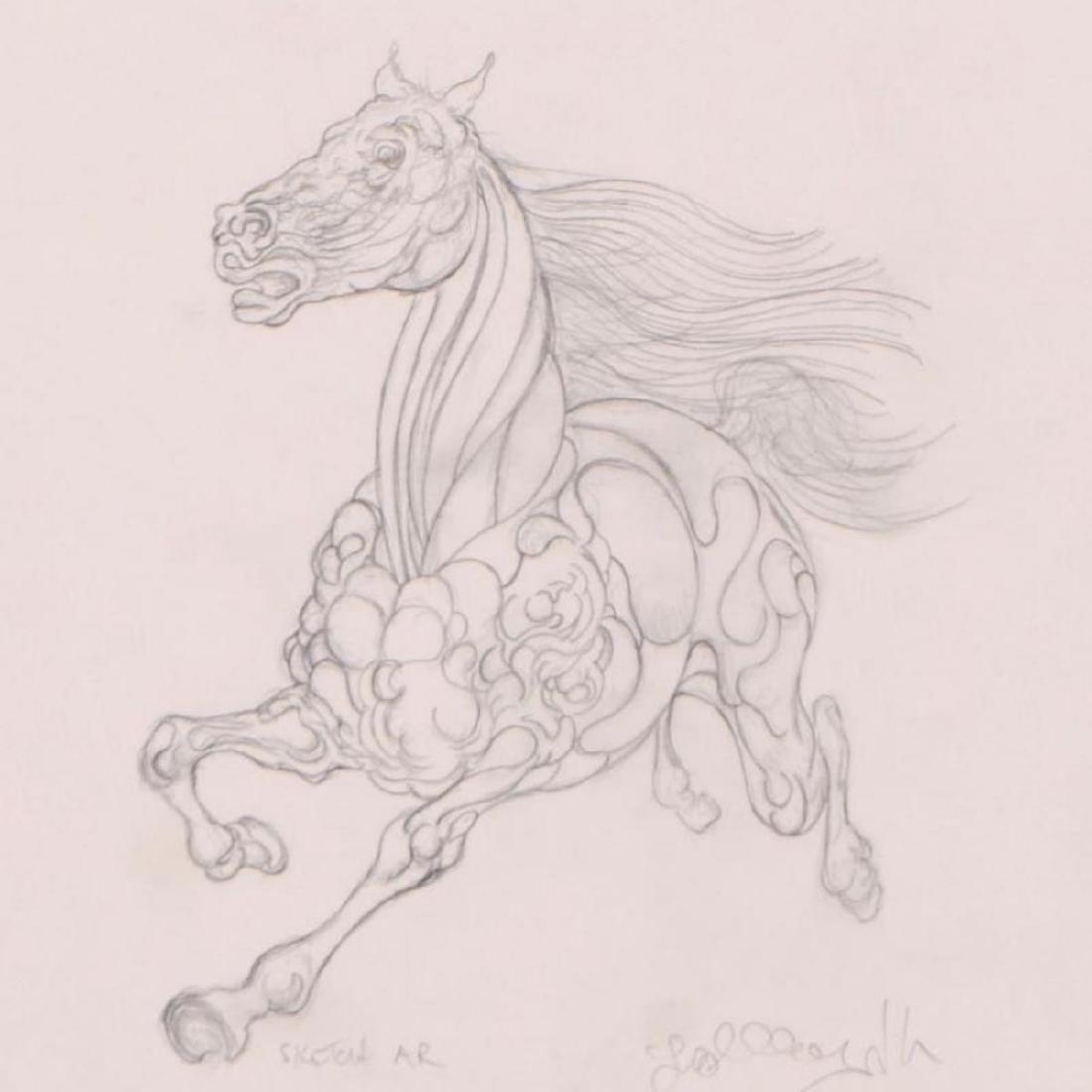 "Guillaume Azoulay - ""AR Sketch"" Framed Original - 2"