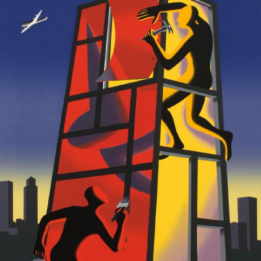 "Mark Kostabi - ""Panic In The Minefield"" Limited Edition - 2"