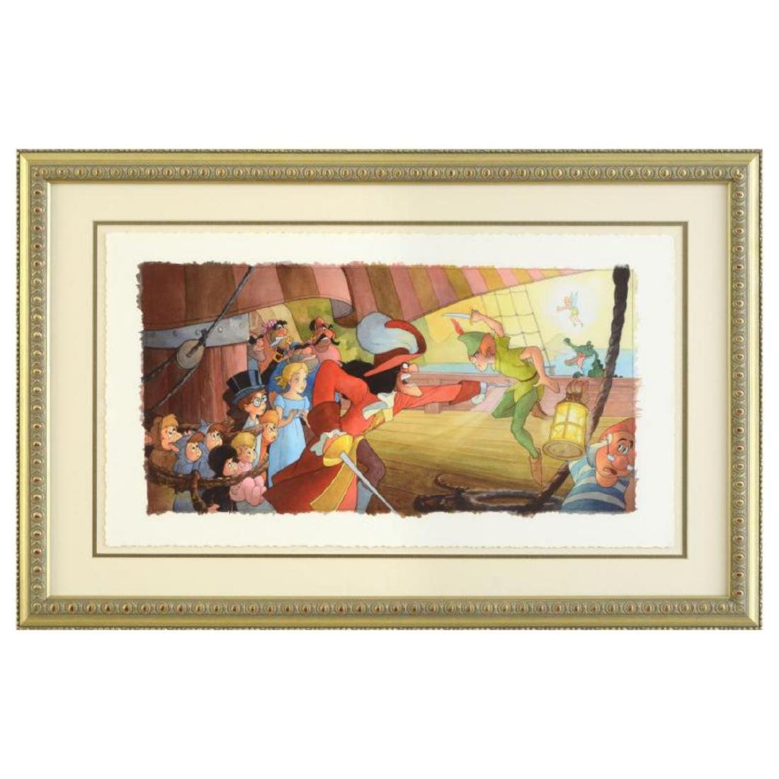 "Toby Bluth (1940-2013) - ""Blast You Pan"" Framed Limited"