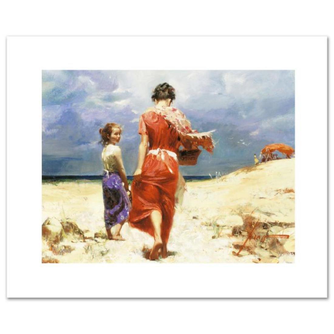 """Summer Retreat"" LIMITED EDITION Artist-Embellished"