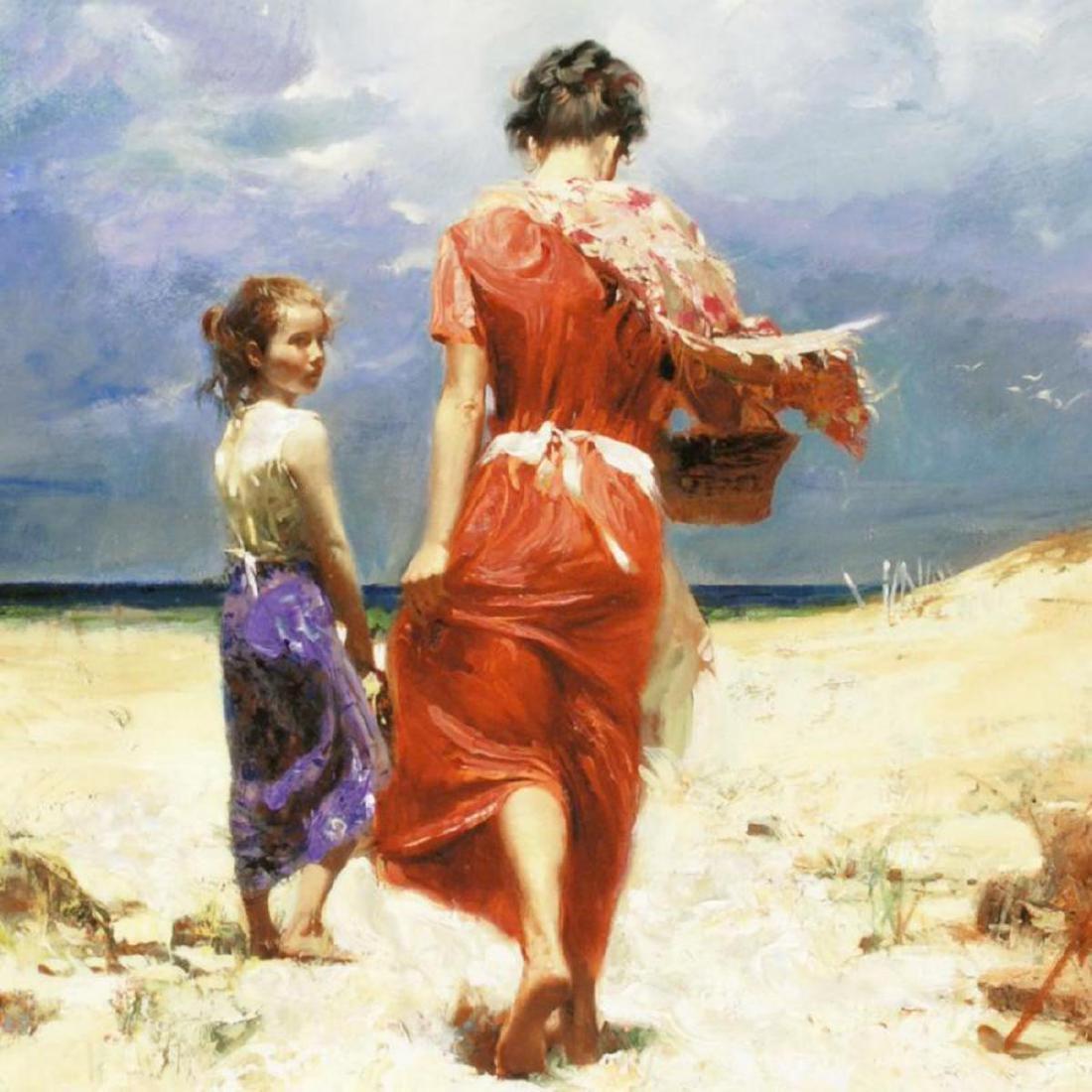 """Summer Retreat"" LIMITED EDITION Artist-Embellished - 2"