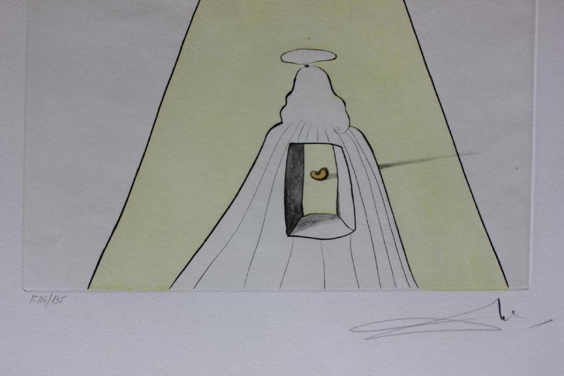 Salvador Dali LE HS/N COA Dieu, le Temps, L'espace et - 2