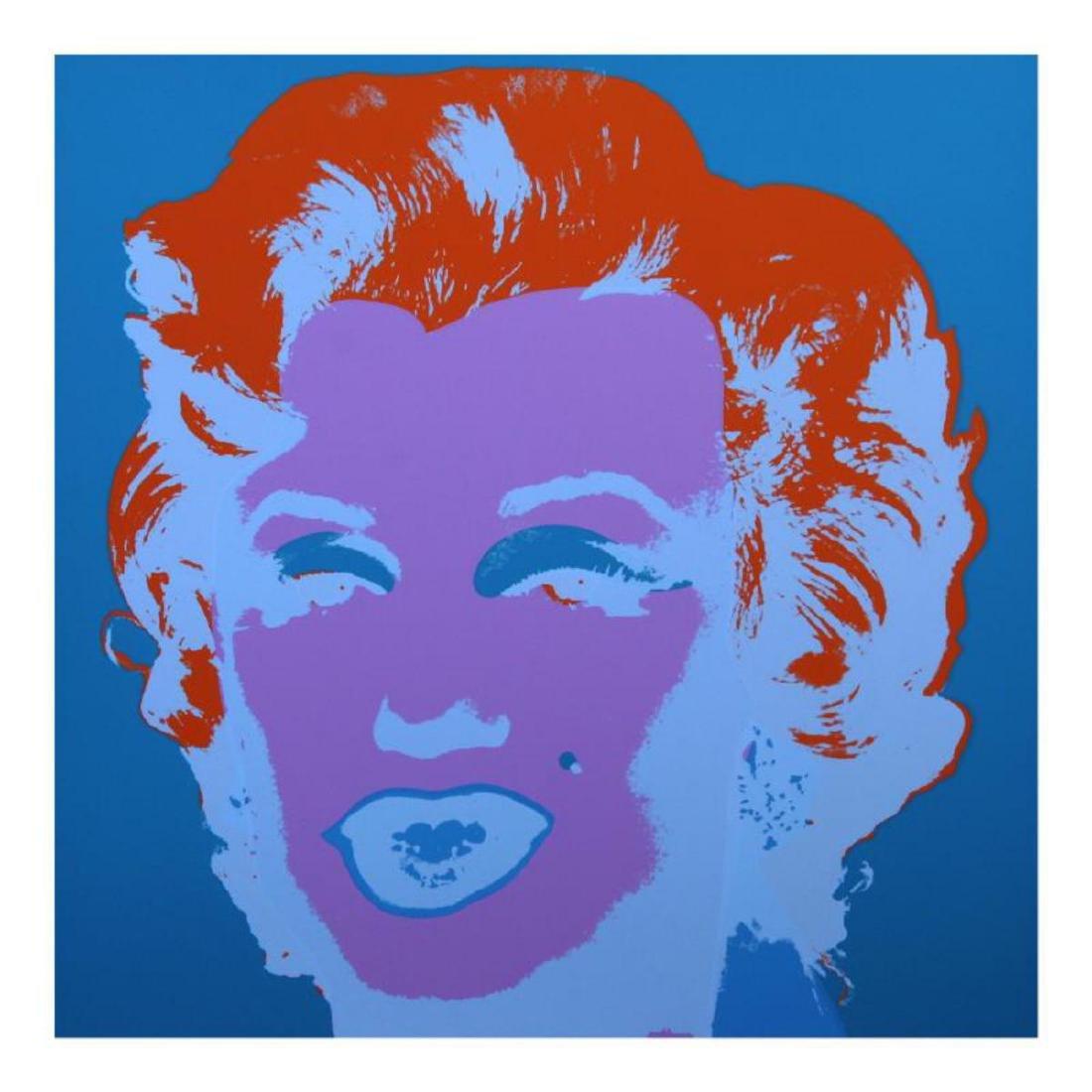 "Andy Warhol ""Marilyn 11.29"" Silk Screen Print from"