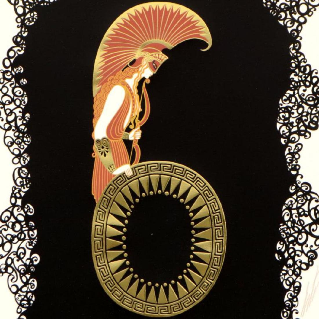 "Erte (1892-1990) - ""Numeral 6"" Limited Edition - 2"