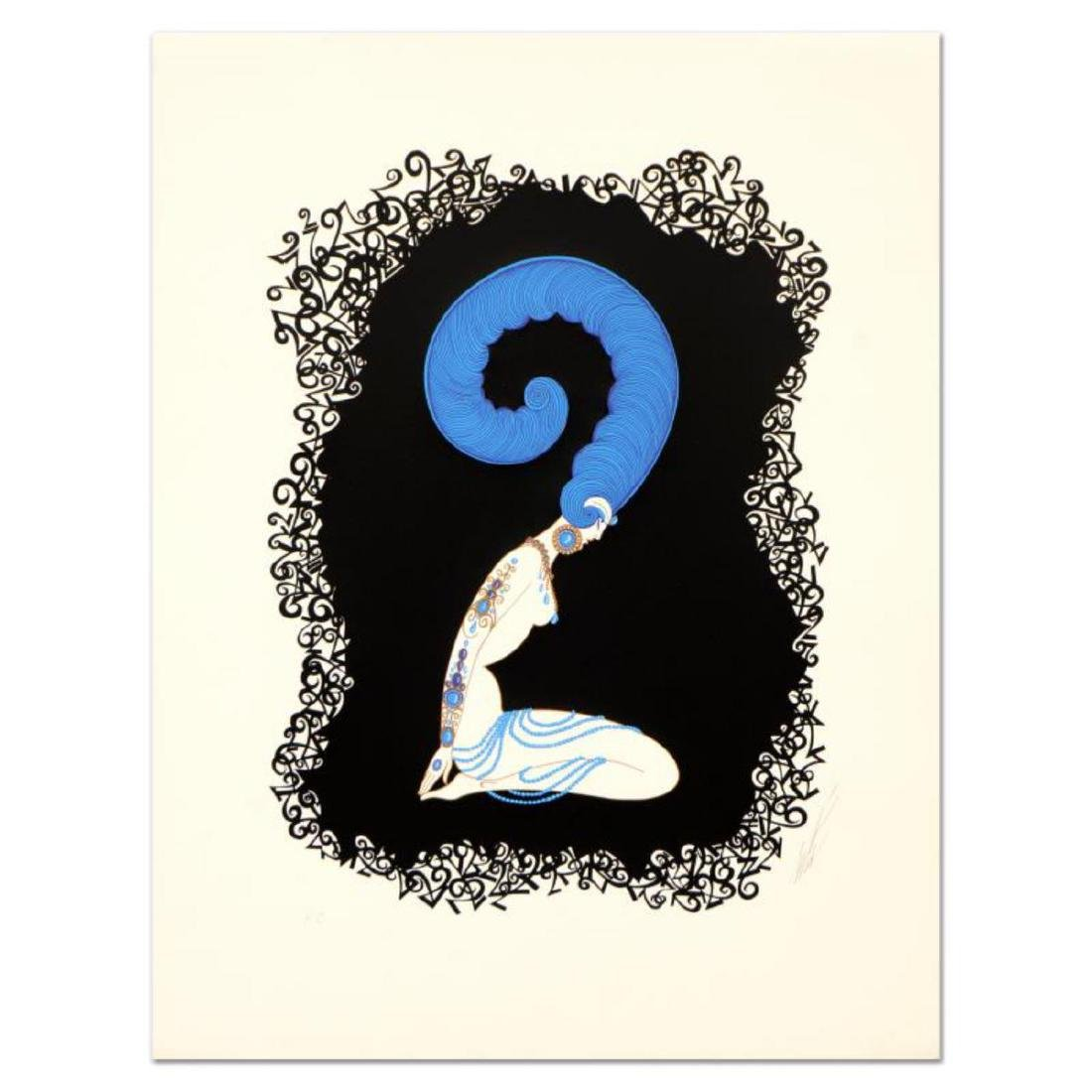 "Erte (1892-1990) - ""Numeral 2"" Limited Edition"