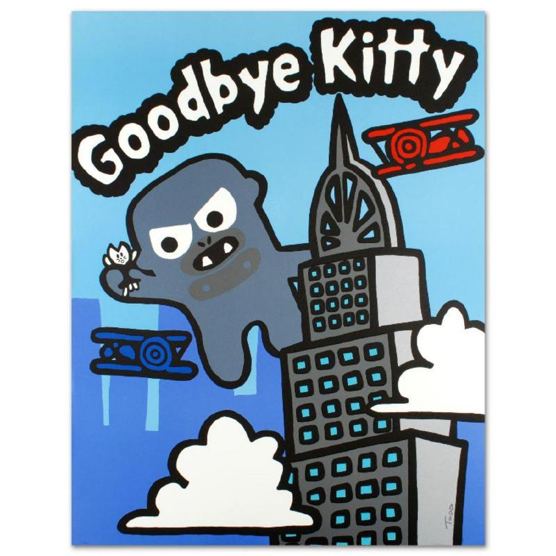 """Goodbye Kitty"" Limited Edition Lithograph (32.5"" x"