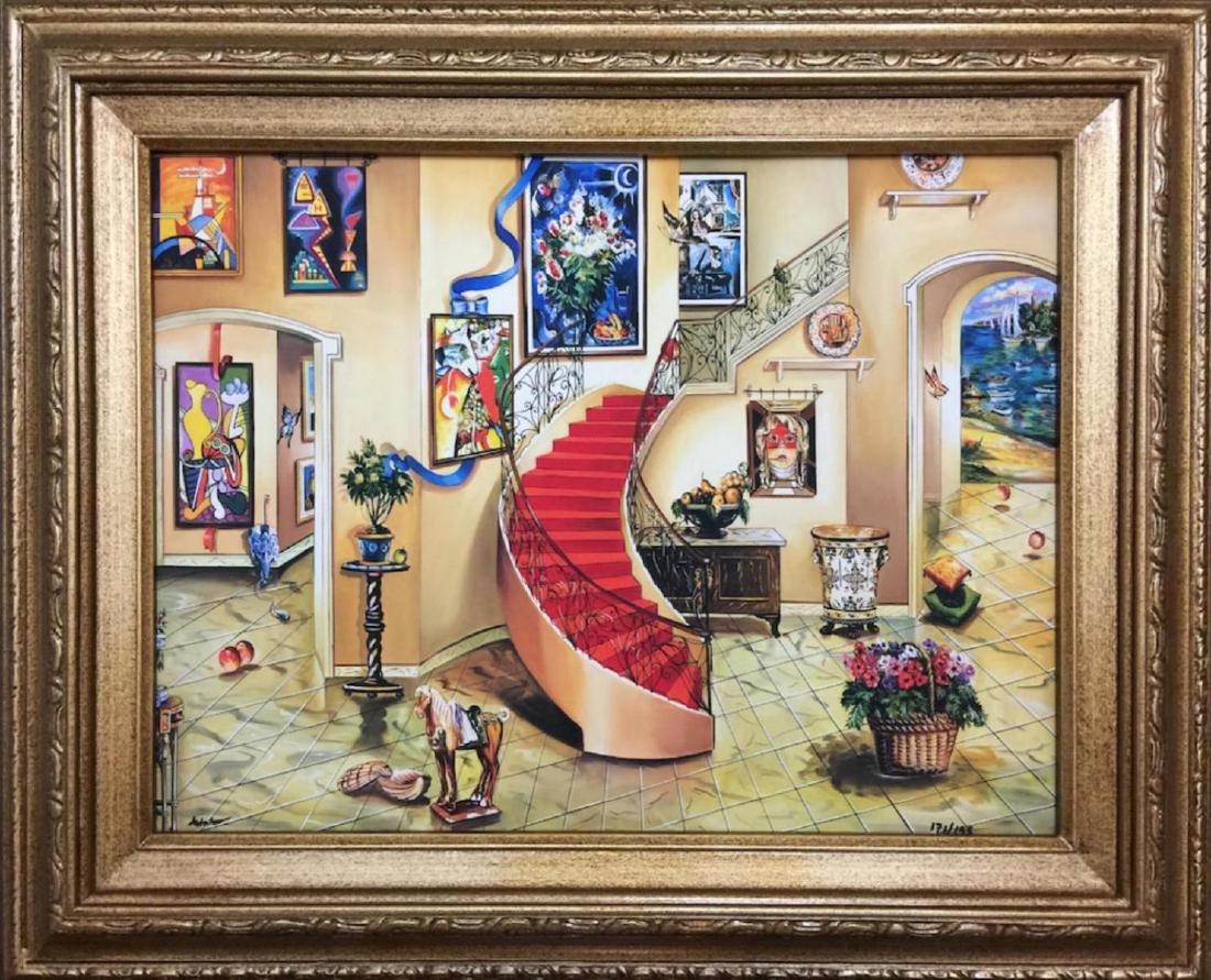 Alexander Astahov Sold Out Framed HS/N Giclee on Canvas