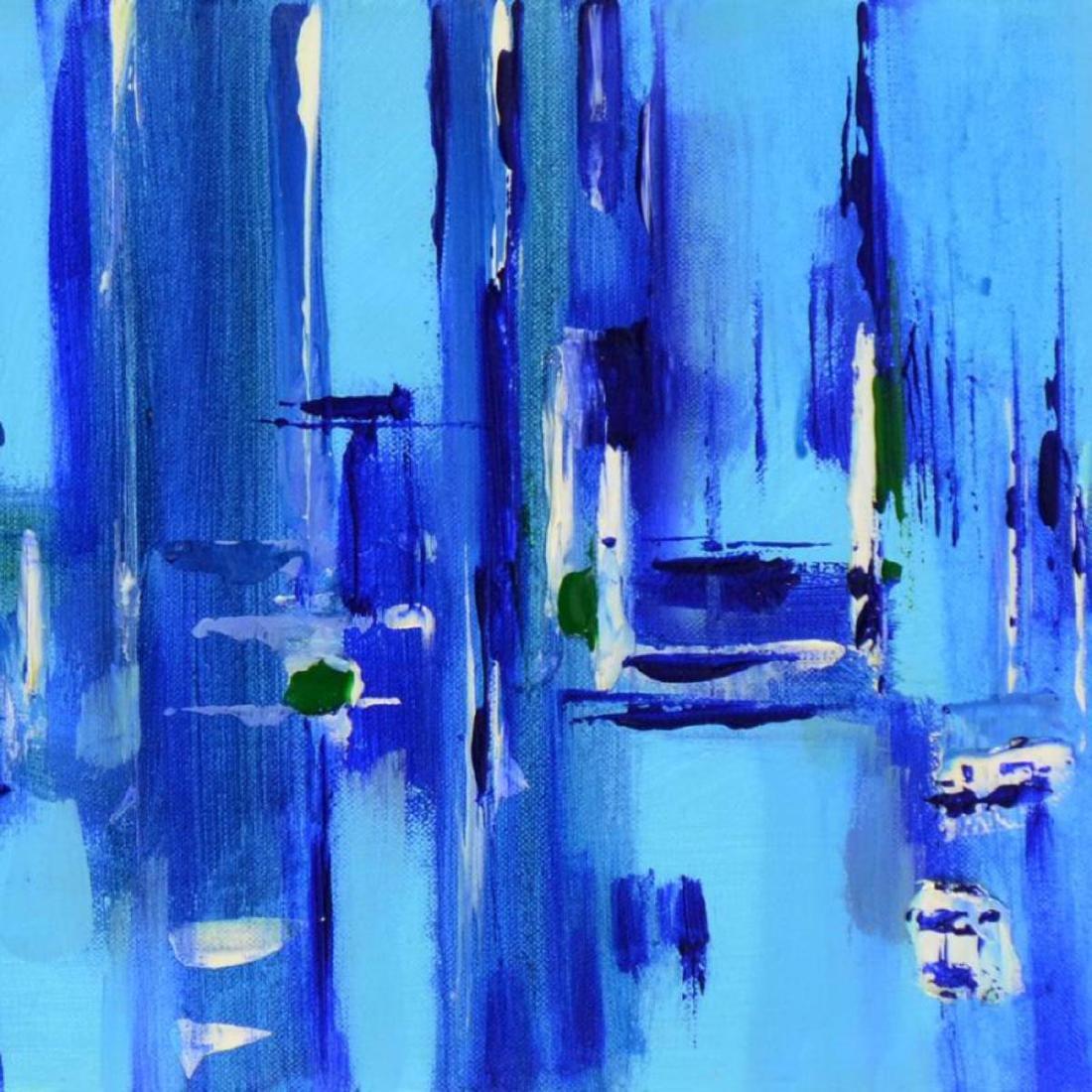 "Roberto Donatelli - ""Blue"" Original Oil Painting on - 2"