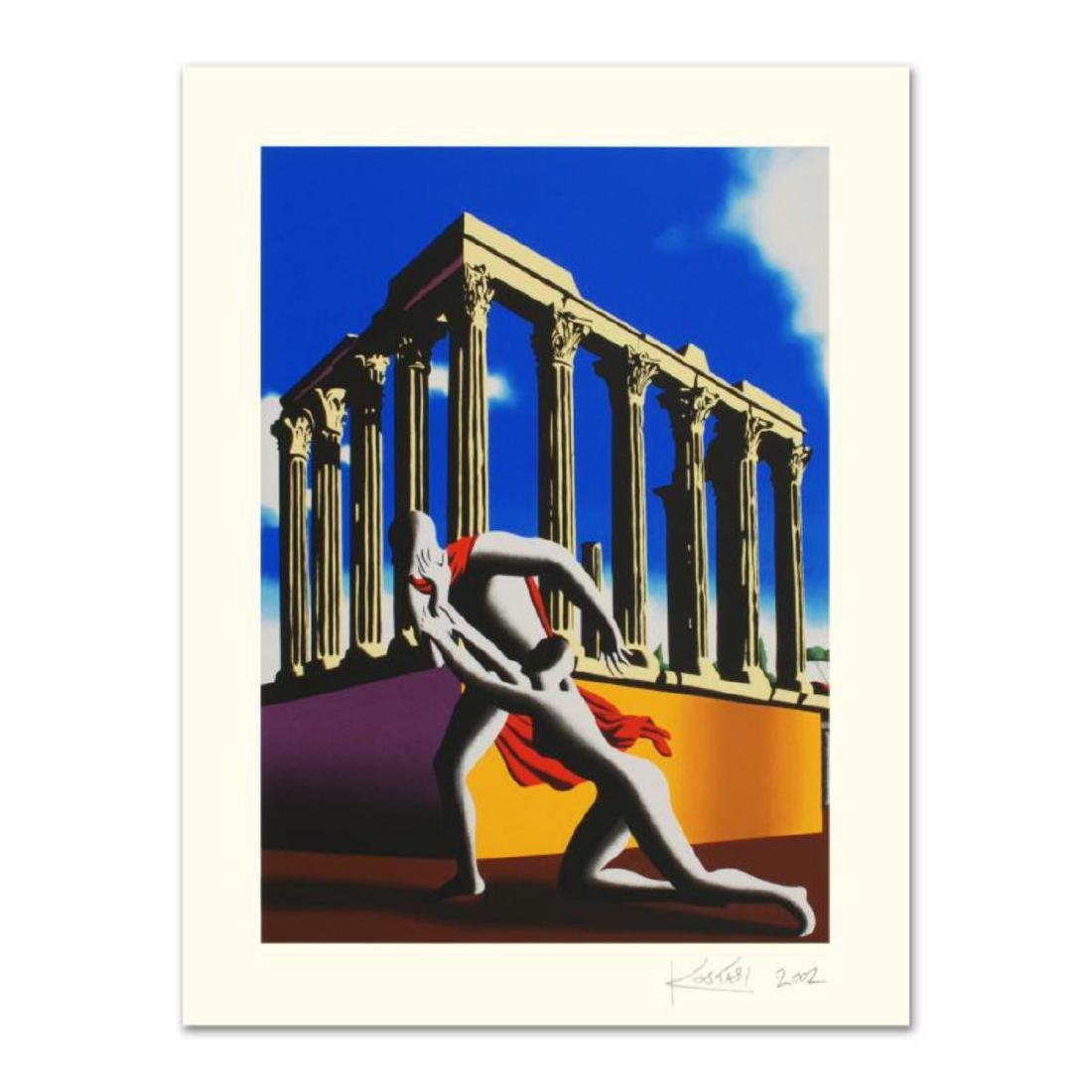 "Mark Kostabi - ""Eternal City"" Limited Edition"