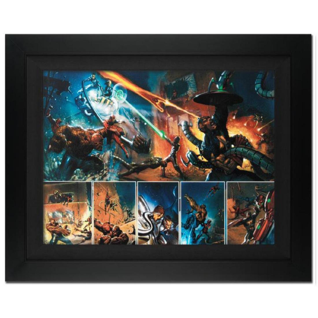 """Secret War #4"" Limited Edition Giclee on Canvas by"