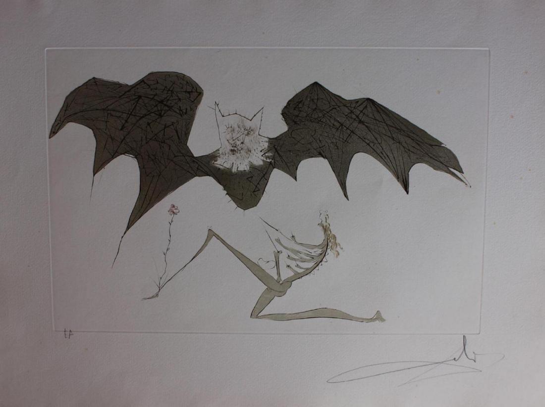 Salvador Dali- L'Ange de la Melancolie Engravings
