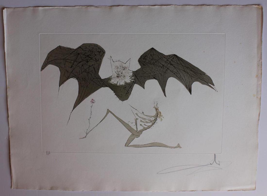 Salvador Dali- L'Ange de la Melancolie Engravings - 2