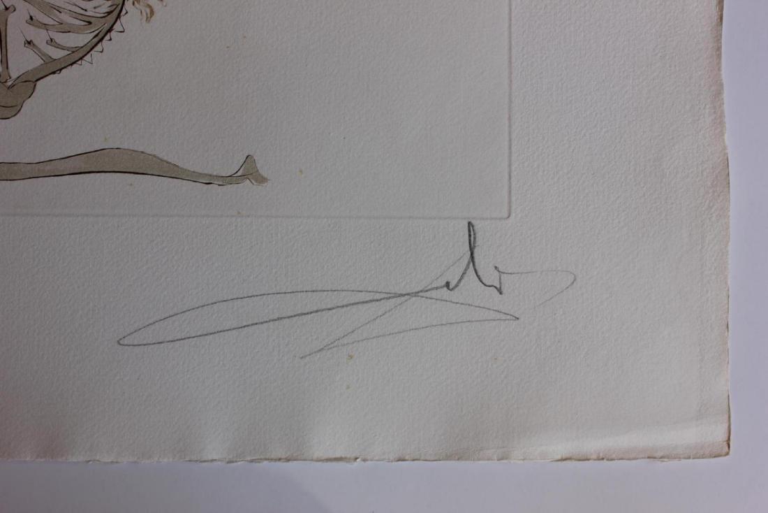 Salvador Dali- L'Ange de la Melancolie Engravings - 3