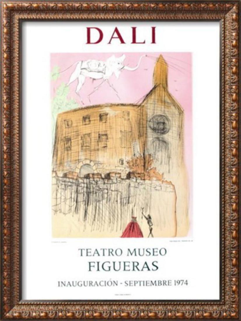 """Salvador Dalí """"Teatro Museo Figueras 1"""" Original"""