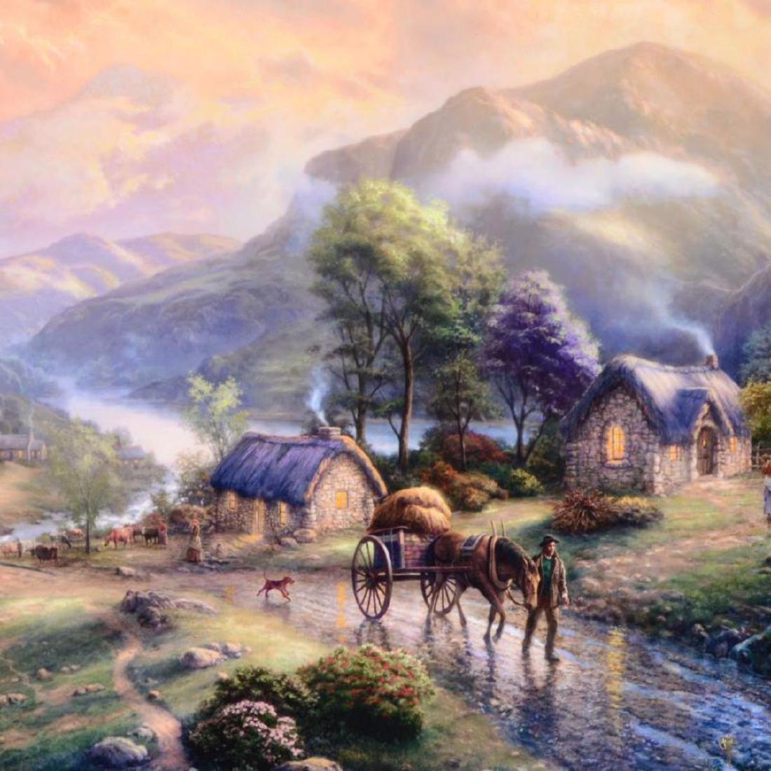 "Thomas Kinkade (1958-2012) - ""Emerald Valley (Emerald - 2"