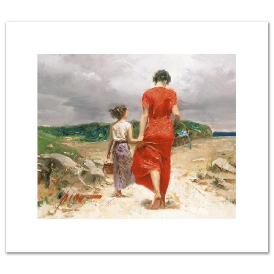 """""""Homeward Bound"""" LIMITED EDITION Artist-Embellished"""