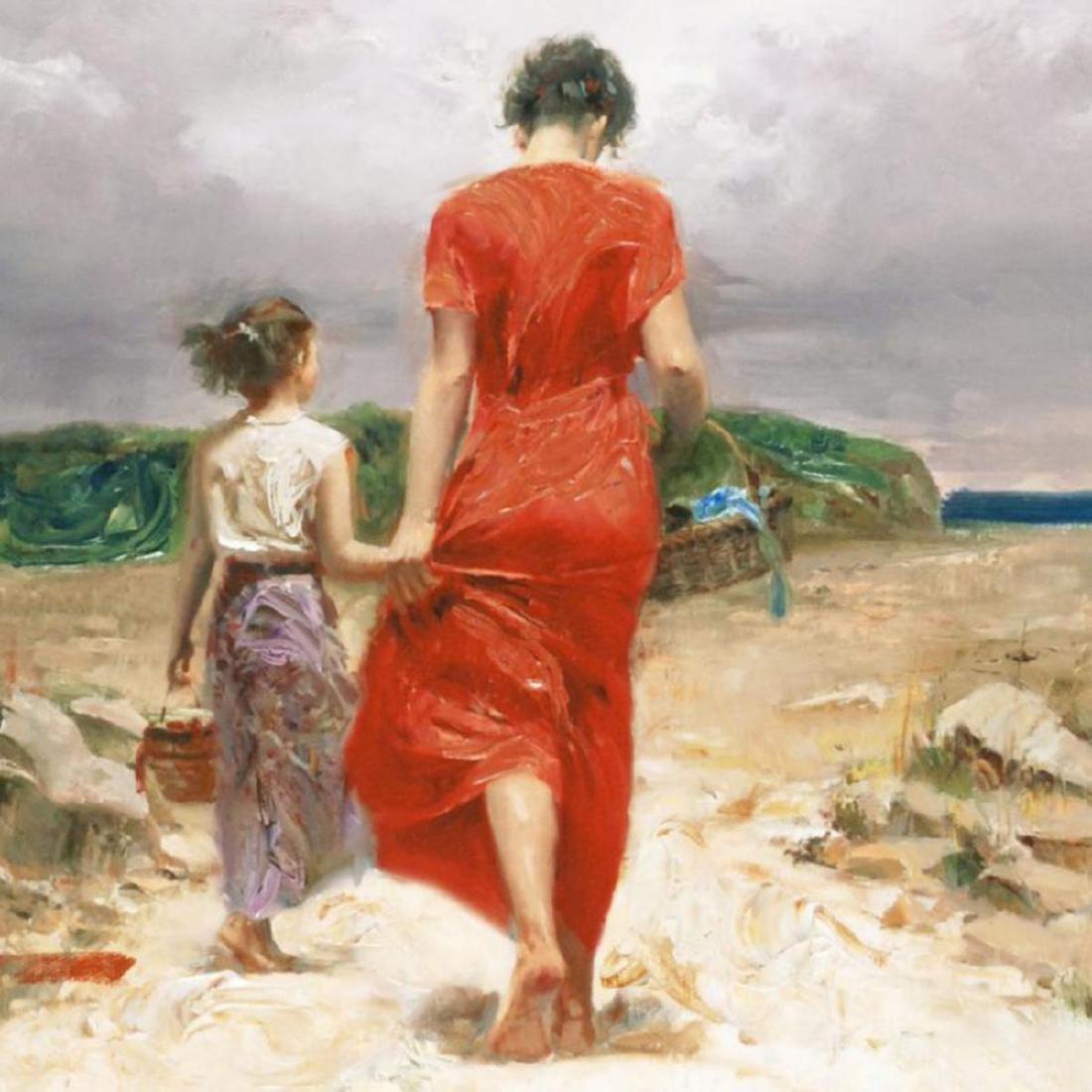 """""""Homeward Bound"""" LIMITED EDITION Artist-Embellished - 2"""