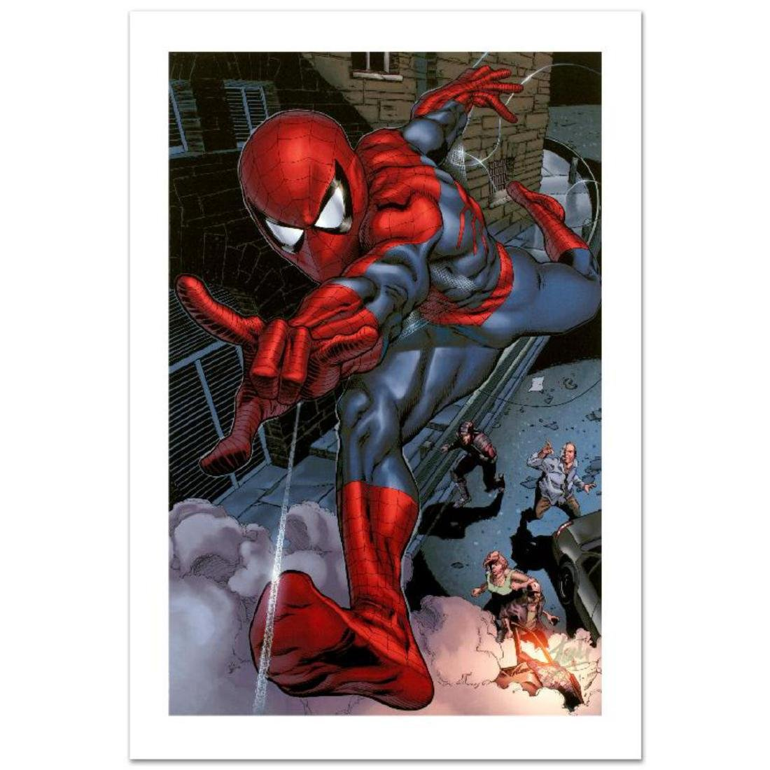 """Heroes For Hire #6"" Limited Edition Giclee on Canvas"