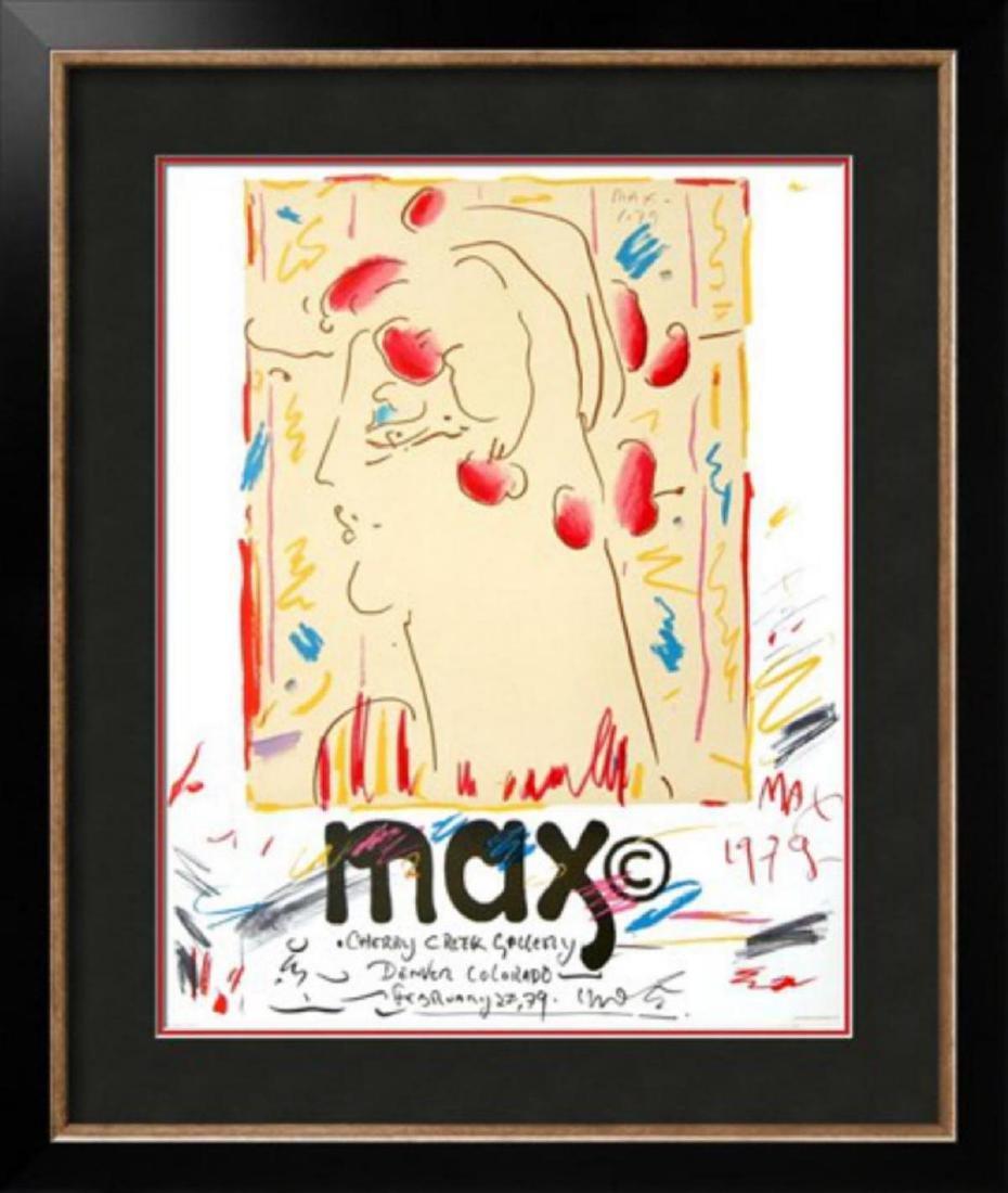 "Peter Max ""Cherry Creek Gallery, Colorado"" Rare"