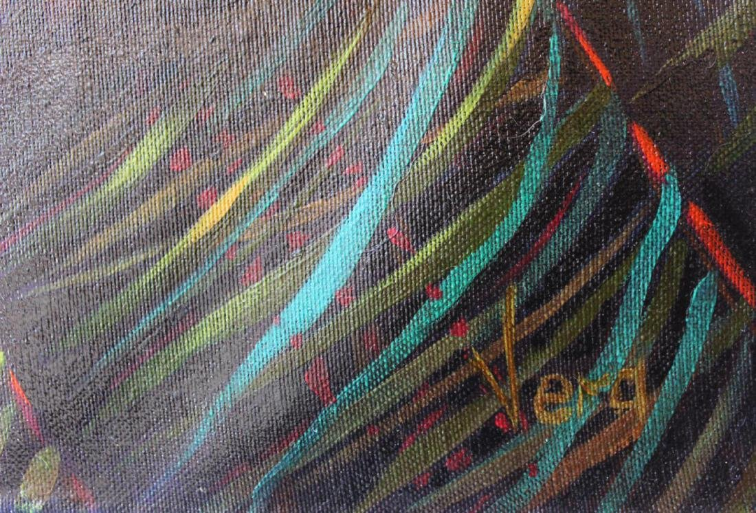 "Vera V. Goncharenko ""Home"" Original Oil on Canvas - 2"