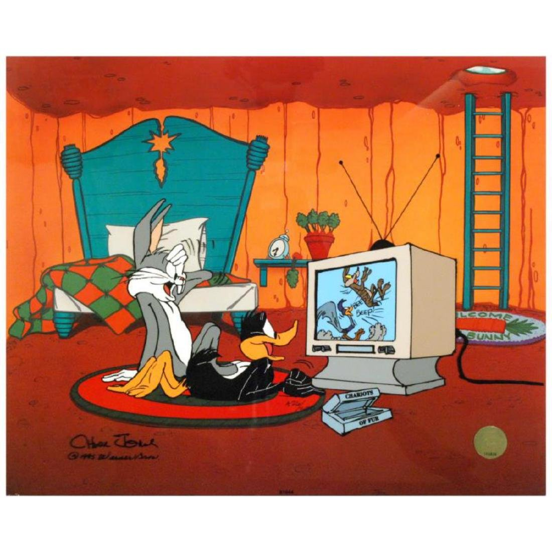 """Just Fur Laughs"" by Chuck Jones (1912-2002)! Sold Out"
