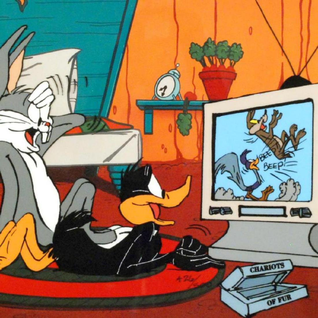 """Just Fur Laughs"" by Chuck Jones (1912-2002)! Sold Out - 2"