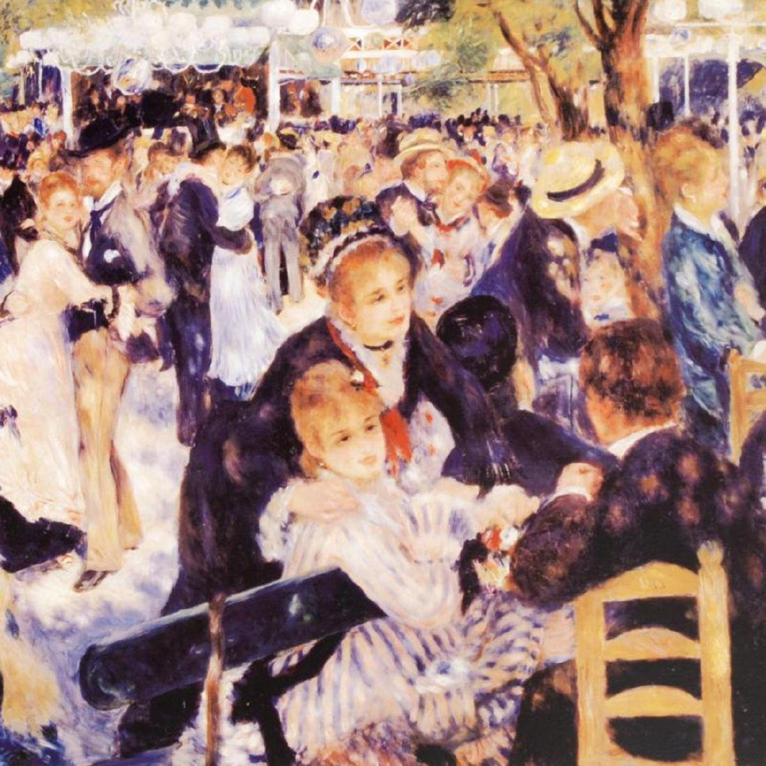 """Bal du Moulin de la Galette"" Fine Art Print by Renoir - 2"