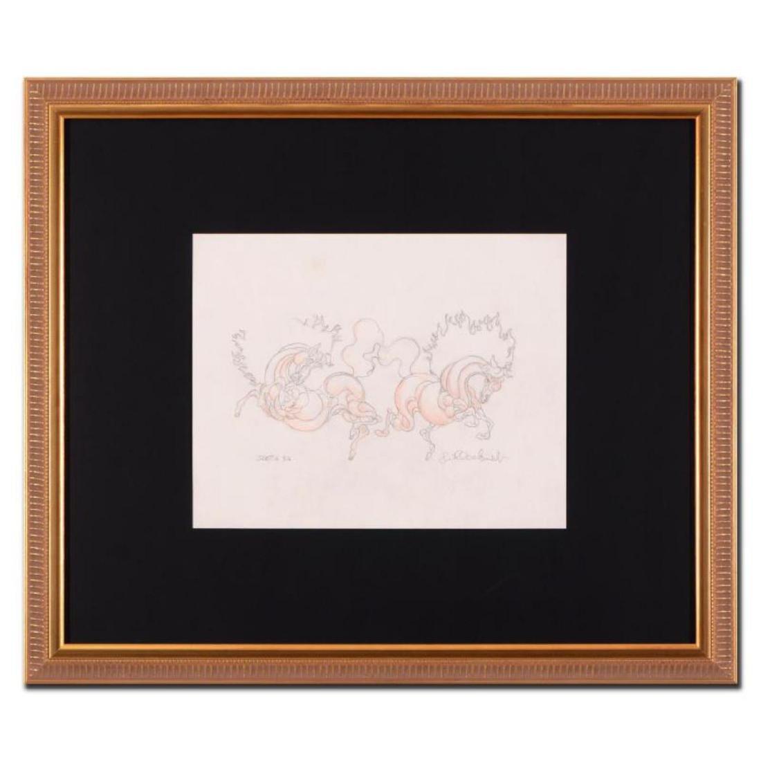"Guillaume Azoulay - ""BG Sketch"" Framed Original"