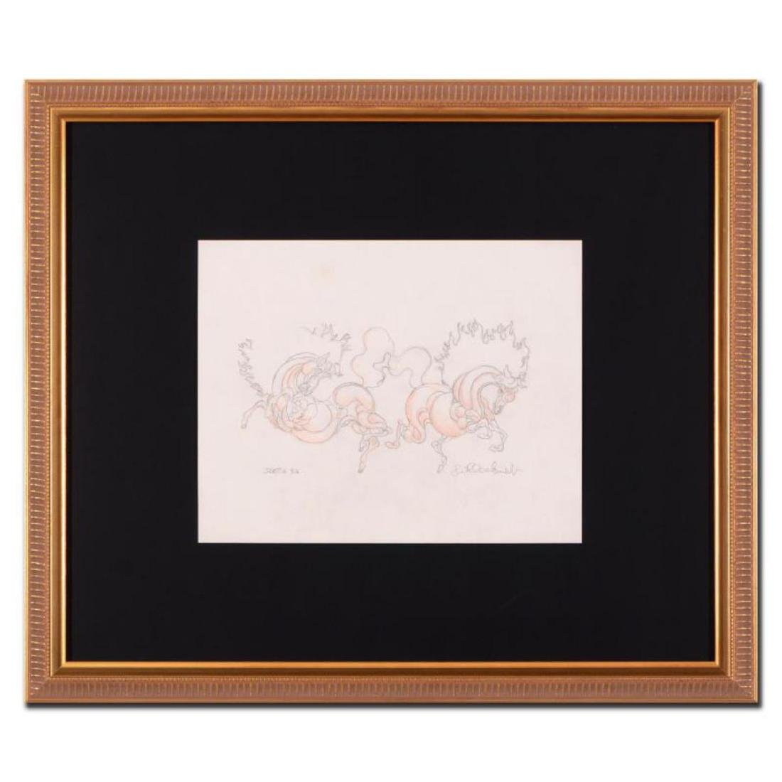"Guillaume Azoulay - ""BG Sketch"" Framed Original"