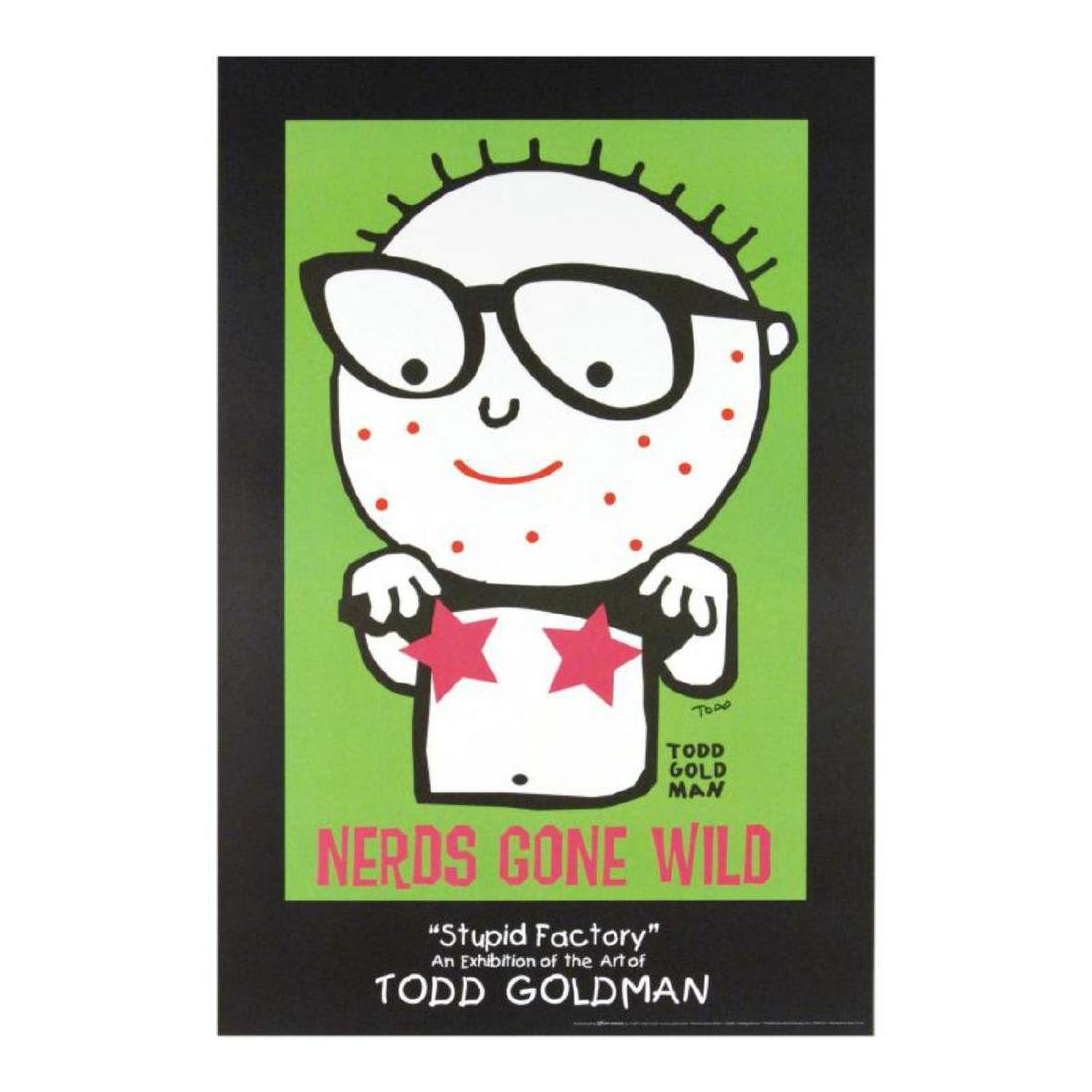 """""""Nerds Gone Wild"""" FINE ART Litho Poster Hand Signed by"""
