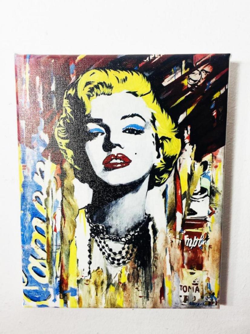 "Nastya Roveskaya Pop Art ""Marilyn Monroe"" Giclee on"